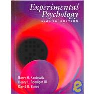 Experimental Psychology Understanding Psychology Research (with InfoTrac)