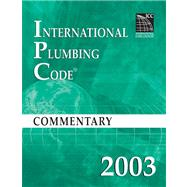 2003 International Plumbing Code Commentary