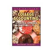 College Accounting: A Practical Approach Chapters 1 to 15