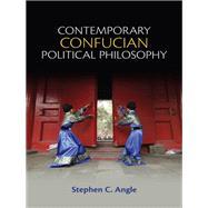 Contemporary Confucian Political Philosophy 9780745661308R