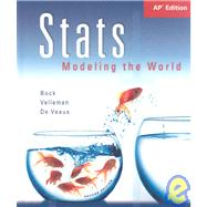 STATS Modeling the World : AP* SE and ActivStats
