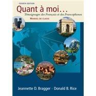 Quant a moi... Temoignages des Fran�ais et des Francophones (with Audio CD)