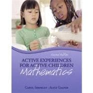 Active Experiences for Active Children : Mathematics