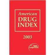 American Drug Index 2003