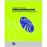 Macromedia Dreamweaver 4 : Training from the Source