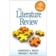 The Literature Review; Six Steps to Success