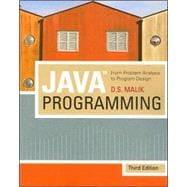 Java™ Programming: From Problem Analysis To Program Design