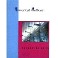 Numerical Methods/Book and Disk With Instructional Manual