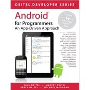 Android for Programmers An App-Driven Approach