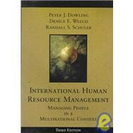 International Human Resource Management : Managing People in a Multinational Context