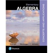 Elementary Algebra Concepts & Applications