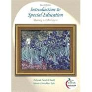 Introduction to Special Education Making A Difference (with MyEducationLab)