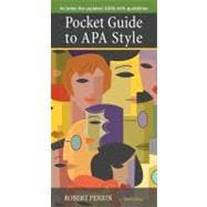 Custom Enrichment Module: Pocket Guide to APA Style 2009, Update Edition