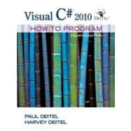 Visual C# 2010 How to Program