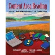 Content Area Reading : Literacy and Learning Across the Curriculum (with MyEducationLab)