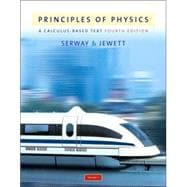 Priniciples Of Physics: A Calculus-Based Text, Vol. I