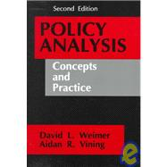 Policy Analysis : Concepts and Practice