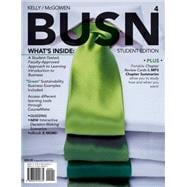 BUSN 4 (with Business CourseMate with eBook Printed Access Card)