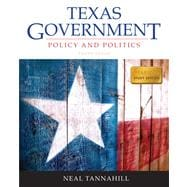 Texas Government Plus NEW MyPoliSciLab with Pearson eText -- Access Card Package