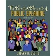 MySpeechLab with Pearson eText -- Standalone Access Card -- for Essential Elements of Public Speaking