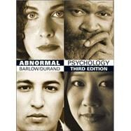 Abnormal Psychology An Integrative Approach (with InfoTrac and CD-ROM)
