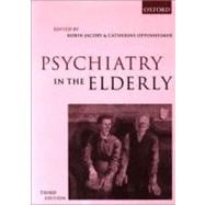 Psychiatry in the Elderly