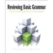Reviewing Basic Grammar Plus MyWritingLab with eText -- Access Card Package