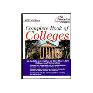 Complete Book of Colleges, 2001 Edition