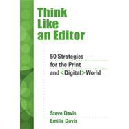 Think Like an Editor