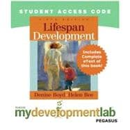 MyDevelopmentLab Pegasus with Pearson eText -- Standalone Access Card -- for Lifespan Development