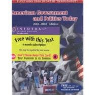 Amer Gov/Politics Today,2001 - 2002 Rev W/ CD - Infotrac
