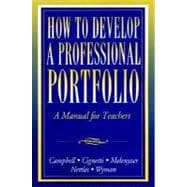 How to Develop Professional Teaching Portfolio