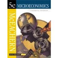 Microeconomics: A Contemporary Introduction With McEachern Interactive Cd-Rom Version 2.0, the Wall Street Journal Edition