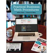 Practical Business Math Proceduares Brief w/Handbook, DVD + Connect Access Card
