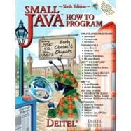 Small Java How to Program and CD Version One Package