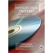 Intellectual Property Law Text, Cases, and Materials