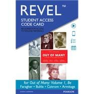REVEL for Out of Many, Volume 1 -- Access Card