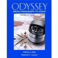Odyssey : From Paragraph to Essay (with MyWritingLab)