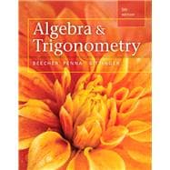 Algebra and Trigonometry plus MyMathLab with Pearson eText,  Access Card Package