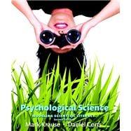 Psychological Science Modeling Scientific Literacy (paperback)