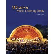 Western Music Listening Today , 4th Edition