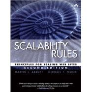 Scalability Rules Principles for Scaling Web Sites
