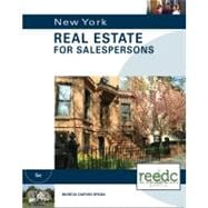 New York Real Estate for Salepersons, Special Education: for the Real Estate Education Center