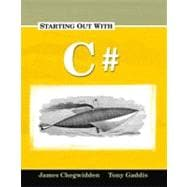 Starting Out with C#