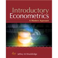 Introductory Econometrics A Modern Approach (with Economic Applications, Data Sets, Student Solutions Manual Printed Access Card)