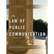Law of Public Communication 2012 Update