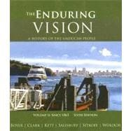 Enduring Vision Vol. 2 : A History of the American People since 1865