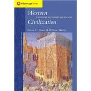 Cengage Advantage Books: Western Civilization A History of European Society, Compact Edition