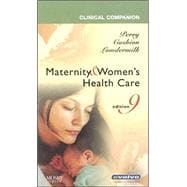 Clinical Companion for Maternity & Women's Health Care