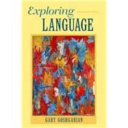 Exploring Language with NEW MyCompLab -- Access Card Package